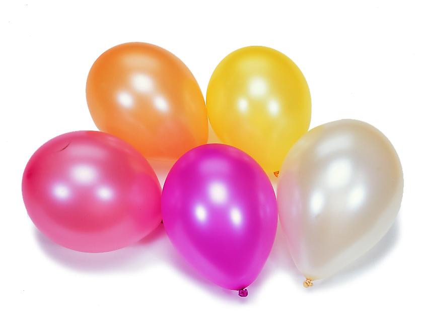 Ballonnen parelmoer 10 stuks partytrix for Ballonnen tafels