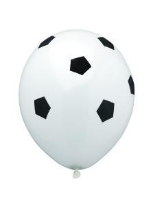 Ballonnen Voetbal - 8 stuks