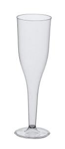 Champagneglazen (plastic) - 10 stuks