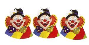 Hoedjes Clown - 5 stuks