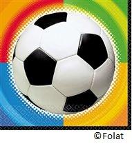 Servet voetbal - 16 stuks