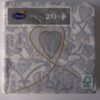 """Servet """"Love"""" - 20 stuks-1164"""
