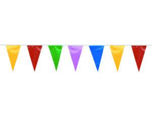 """Vlaggenlijn """"Multicolor"""" - 4 meter-509"""