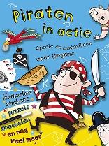 Piraten in actie knutselboek