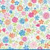 """Servet """"Mille Fleurs"""" - 20 stuks"""