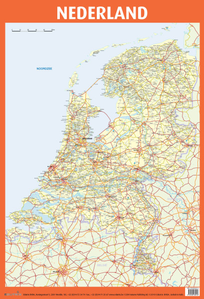Poster: Nederland - 1 stuk PROMO!-783