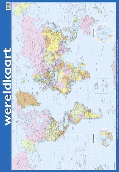 Poster: Wereldkaart - 1 stuk-773