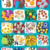 Poster: Tellen van 1 tot 20- 1 stuk -812