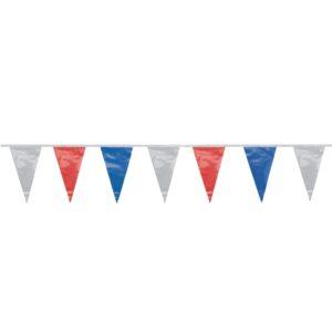 Vlaggenlijn Blauw-Wit-Rood - 4 meter-995