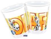 Bekers Frozen met Olaf - 8 stuks-1044