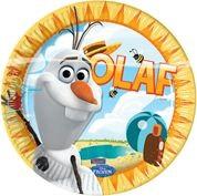 Borden Frozen met Olaf - 8 stuks-1038