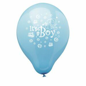 ballon it's a boy blauw