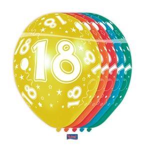 ballon 18 jaar