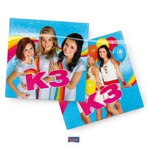 Servetten nieuwe K3