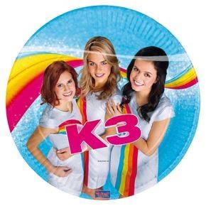 bord nieuwe K3
